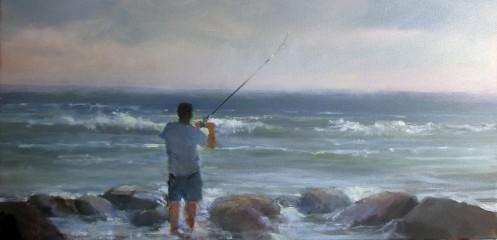 Jon fishing